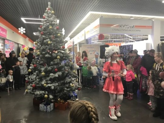 ТЦ «Карусель», г. Бобруйск, «Рождество» 384