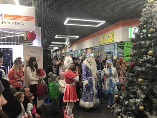 ТЦ «Карусель», г. Бобруйск, «Рождество» 385