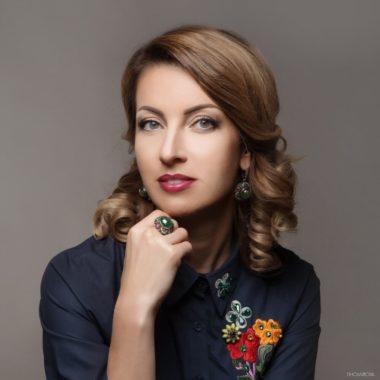 Анна Заборонок в рамках бизнес-мероприятия «Выставка Мебель-2018»