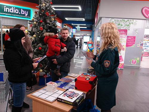 В Бобруйске завершилась акция «Безопасный Новый год»
