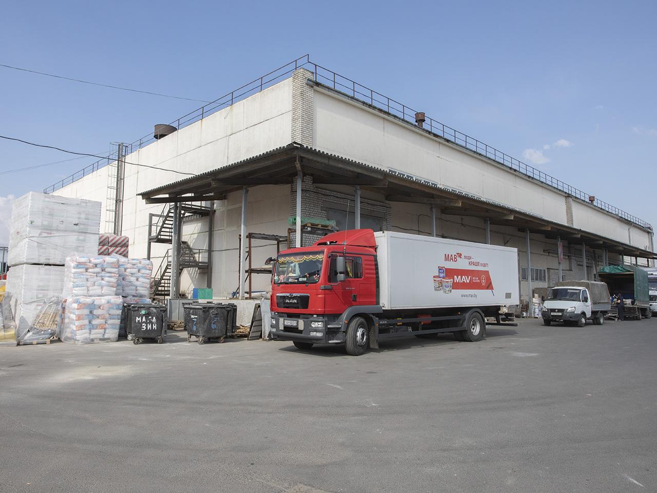 Складской комплекс, Минск, пер.Промышленный 12 3747