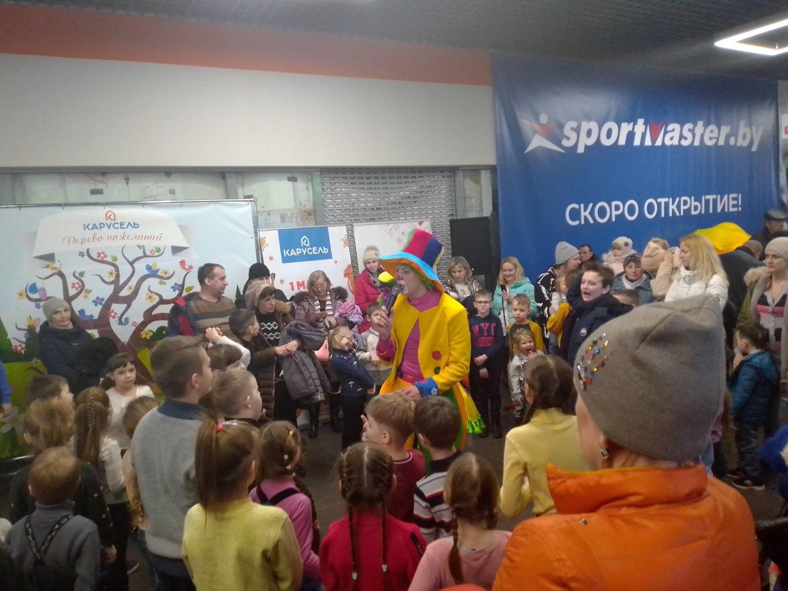 1 марта прошла Масленица-2020 в ТЦ «Карусель», Бобруйск